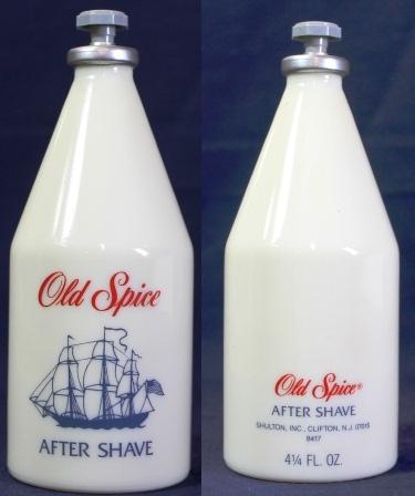 Dating old spice bottles